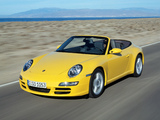 Pictures of Porsche 911 Carrera Cabriolet (997) 2005–08