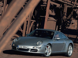 Pictures of Porsche 911 Carrera 4S Coupe (997) 2006–08