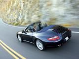 Pictures of Porsche 911 Carrera 4S Cabriolet US-spec (997) 2006–08