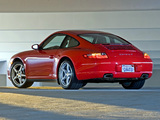 Pictures of Porsche 911 Carrera 4 Coupe US-spec (997) 2006–08
