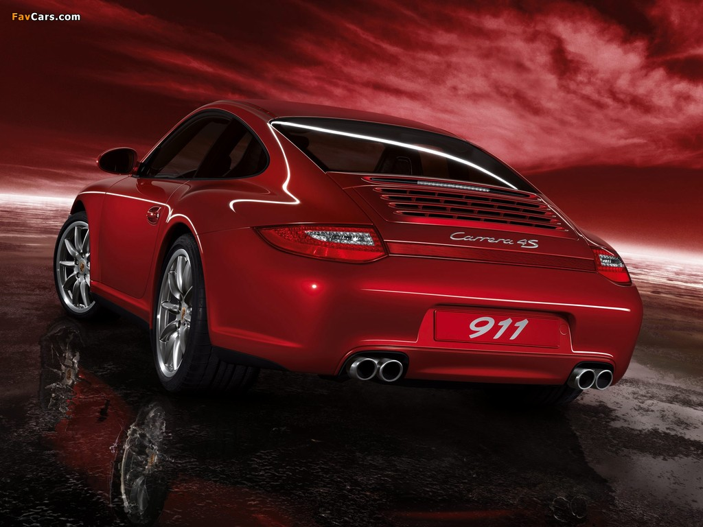 Pictures Of Porsche 911 Carrera 4s Coupe 997 2008 12