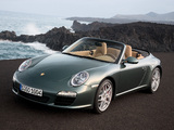 Pictures of Porsche 911 Carrera S Cabriolet (997) 2008–11