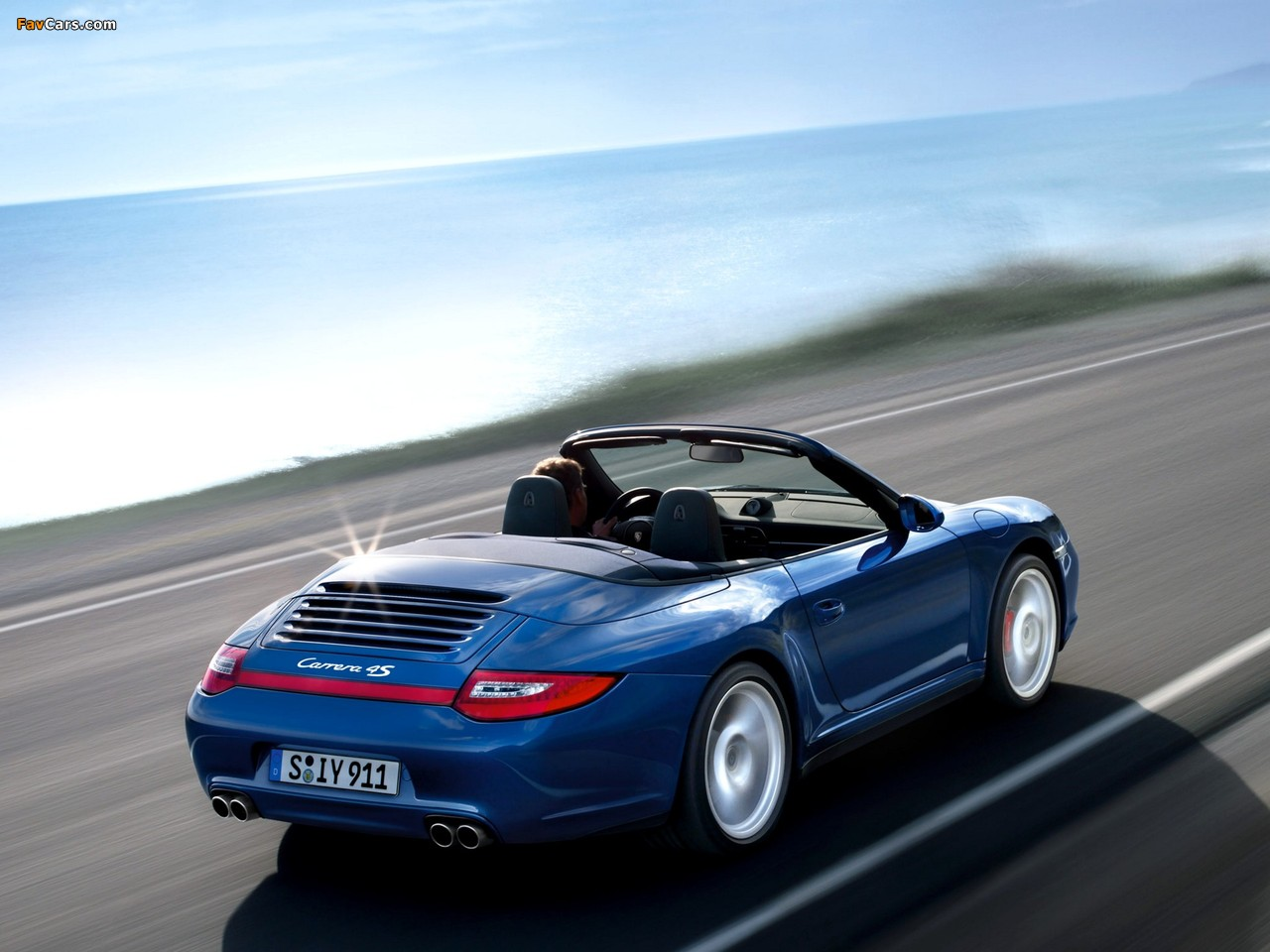 Pictures Of Porsche 911 Carrera 4s Cabriolet 997 2008 12