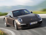 Pictures of Porsche 911 Carrera 4S Coupe (991) 2012
