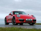 Pictures of Porsche 911 Carrera 4S Coupe UK-spec (991) 2012
