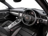 Pictures of Porsche 911 Carrera 4 Coupe UK-spec (991) 2012