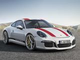Pictures of Porsche 911 R (991) 2016