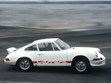 Porsche 911 Carrera RS 2.7 Sport (911) 1972–73 photos