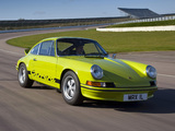 Porsche 911 Carrera RS 2.7 Sport (911) 1972–73 pictures