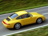 Porsche 911 Carrera 3.6 Coupe (993) 1993–97 photos