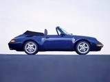 Porsche 911 Carrera 3.6 Cabriolet (993) 1994–98 images