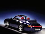 Porsche 911 Carrera 3.6 Cabriolet (993) 1994–98 photos