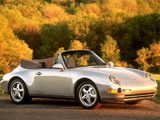 Porsche 911 Carrera 3.6 Cabriolet (993) 1994–98 wallpapers