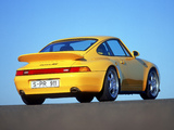 Porsche 911 Carrera RS 3.8 Coupe (993) 1995–97 pictures