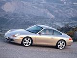 Porsche 911 Carrera Coupe (996) 1997–2001 photos