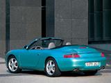 Porsche 911 Carrera Cabriolet (996) 1998–2001 images