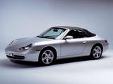 Porsche 911 Carrera Cabriolet (996) 1998–2001 photos