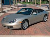Porsche 911 Carrera 4 Cabriolet US-spec (996) 1998–2001 pictures