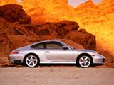 Porsche 911 Carrera 4S Coupe US-spec (996) 2001–04 images