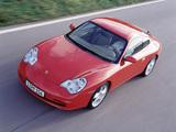 Porsche 911 Carrera Coupe (996) 2001–04 photos