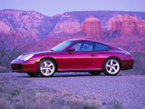Porsche 911 Carrera 4S Coupe US-spec (996) 2001–04 wallpapers