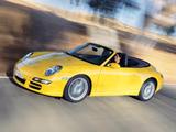 Porsche 911 Carrera Cabriolet (997) 2005–08 photos