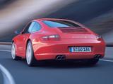 Porsche 911 Carrera S Coupe (997) 2005–08 pictures