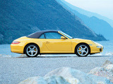 Porsche 911 Carrera 4 Cabriolet (997) 2006–08 images