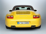 Porsche 911 Carrera 4 Cabriolet (997) 2006–08 photos