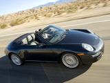 Porsche 911 Carrera 4S Cabriolet US-spec (997) 2006–08 photos