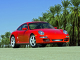 Porsche 911 Carrera 4 Coupe US-spec (997) 2006–08 photos