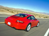 Porsche 911 Carrera 4 Coupe US-spec (997) 2006–08 wallpapers