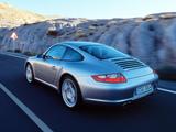 Porsche 911 Carrera 4S Coupe (997) 2006–08 wallpapers