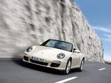 Porsche 911 Carrera Cabriolet (997) 2008–11 pictures