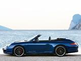 Porsche 911 Carrera GTS Cabriolet (997) 2010–12 photos