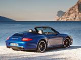 Porsche 911 Carrera GTS Cabriolet (997) 2010–12 pictures