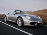 Porsche 911 Carrera S Cabriolet UK-spec (991) 2011 photos