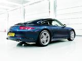 Porsche 911 Carrera Coupe UK-spec (991) 2011 pictures