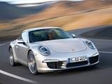 Porsche 911 Carrera S Coupe (991) 2011 pictures
