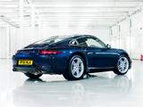 Porsche 911 Carrera Coupe UK-spec (991) 2011 wallpapers