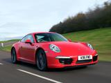 Porsche 911 Carrera 4S Coupe UK-spec (991) 2012 photos