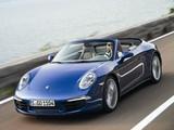 Porsche 911 Carrera 4 Cabriolet (991) 2012 photos