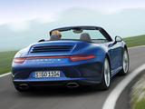 Porsche 911 Carrera 4 Cabriolet (991) 2012 pictures