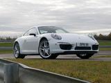 Porsche 911 Carrera 4 Coupe UK-spec (991) 2012 pictures
