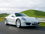 Porsche 911 Carrera 4 Coupe UK-spec (991) 2012 wallpapers