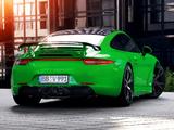 TechArt Porsche 911 Carrera 4S UK-spec (991) 2013 photos
