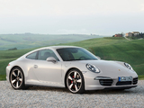 Porsche 911 50 Years Edition (991) 2013 pictures