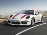 Porsche 911 R (991) 2016 pictures