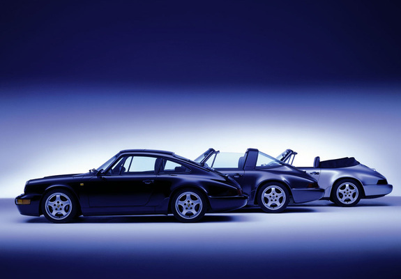 Porsche 911 Carrera 964 Wallpapers