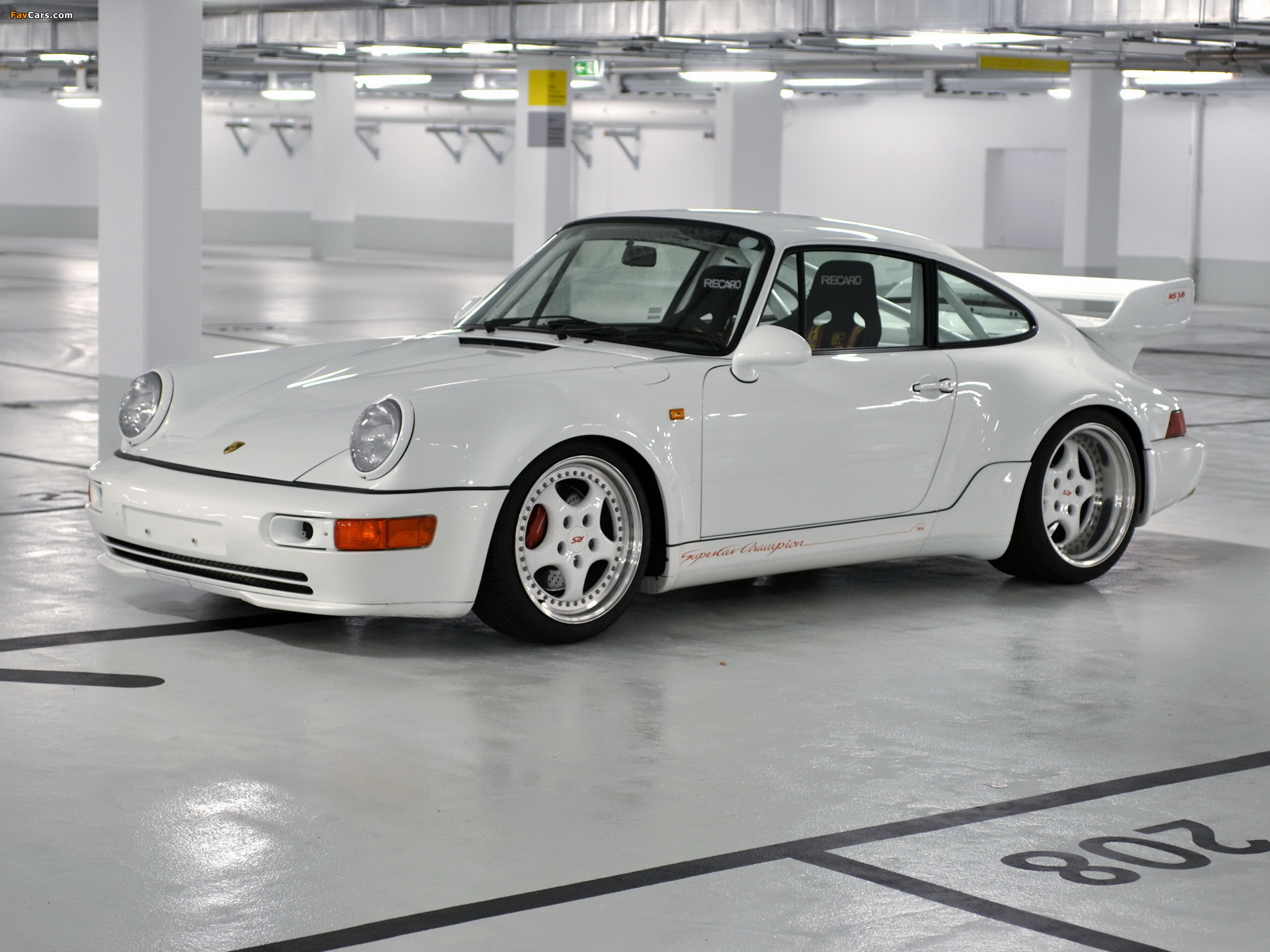 Porsche 911 Carrera Rs 3 8 964 1993 Wallpapers 2048x1536